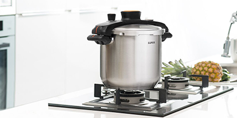 Turn-knob Efficient Pressure Cooker